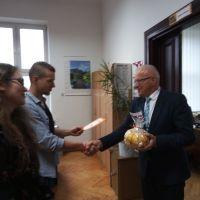 Samorząd Uczniowski w Dzień Edukacji Narodowej