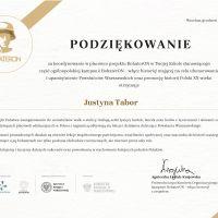 BohaterOn - dyplomy