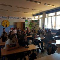 Spotkanie z gimnazjalistami z Ulanowa
